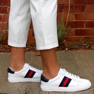 Gucci shoe side shot